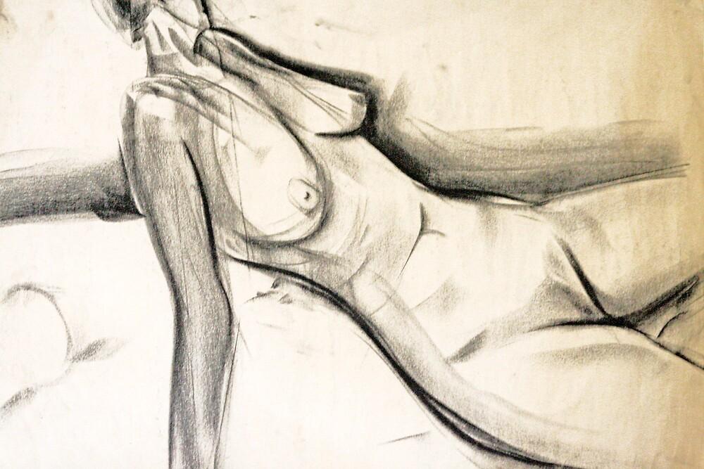 The landscape of a woman by Jason Hampton-Taylor