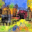 Psychedelic City 2 by Liz Plummer