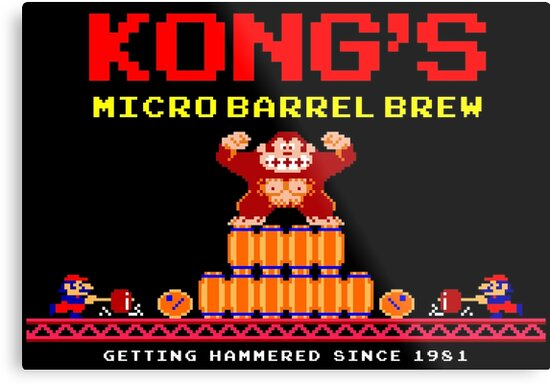 Donkey Kong Barrel 8 Bit