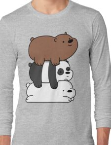 We Bare Bears Babys Long Sleeve T-Shirt