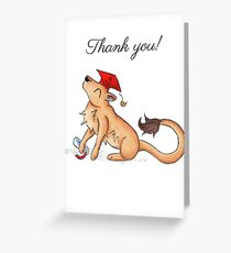 Lioness Grad (Thank You Card) Greeting Card