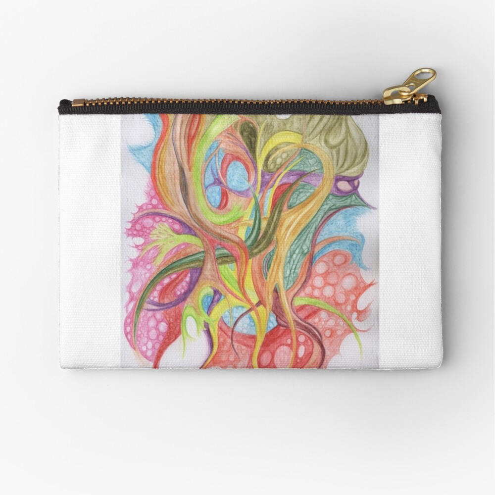 Cell Party Zipper Pouch