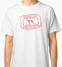 Republic of Newtown - 2014: Red Classic T-Shirt