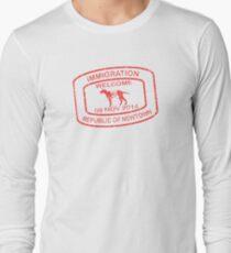 Republic of Newtown - 2014: Red Long Sleeve T-Shirt