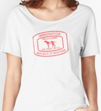 Republic of Newtown - 2014: Red Women's Relaxed Fit T-Shirt