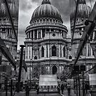 A view of St.Pauls by Stuart  Gennery