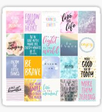 Motivational Planner Stickers Sticker