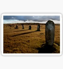 The Hurlers Stone Circle - Cornwall Sticker