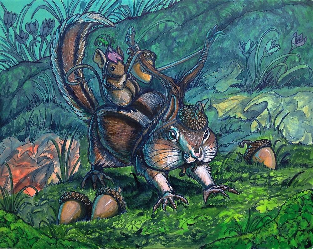 Critter Attack by Rachel Quinlan