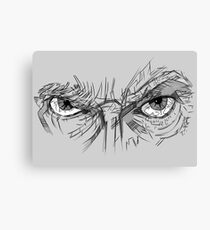 Doctor Who - Peter Capaldi Eyes - No Sir, All 13 Canvas Print