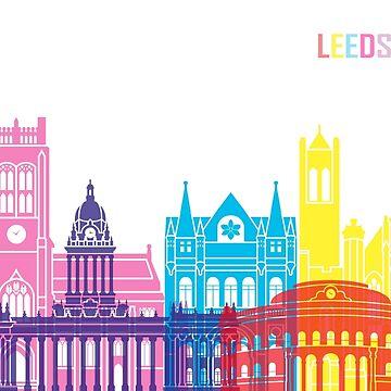 Leeds V2 Skyline Pop von paulrommer