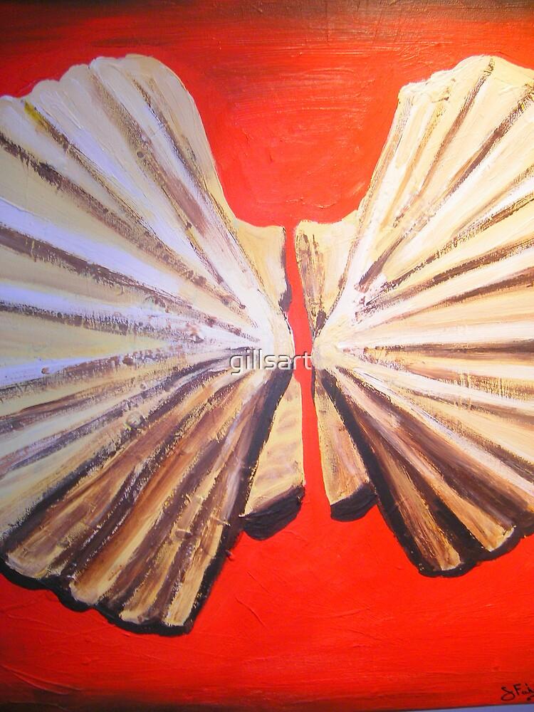She Sell Sea Shells  by gillsart
