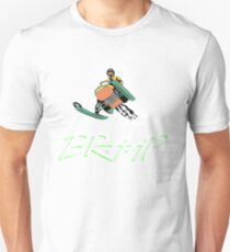 Brap Braap Braaap Snowmobile Unisex T-Shirt