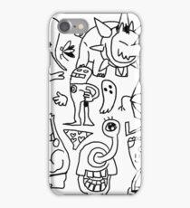 doodle dumb iPhone Case/Skin