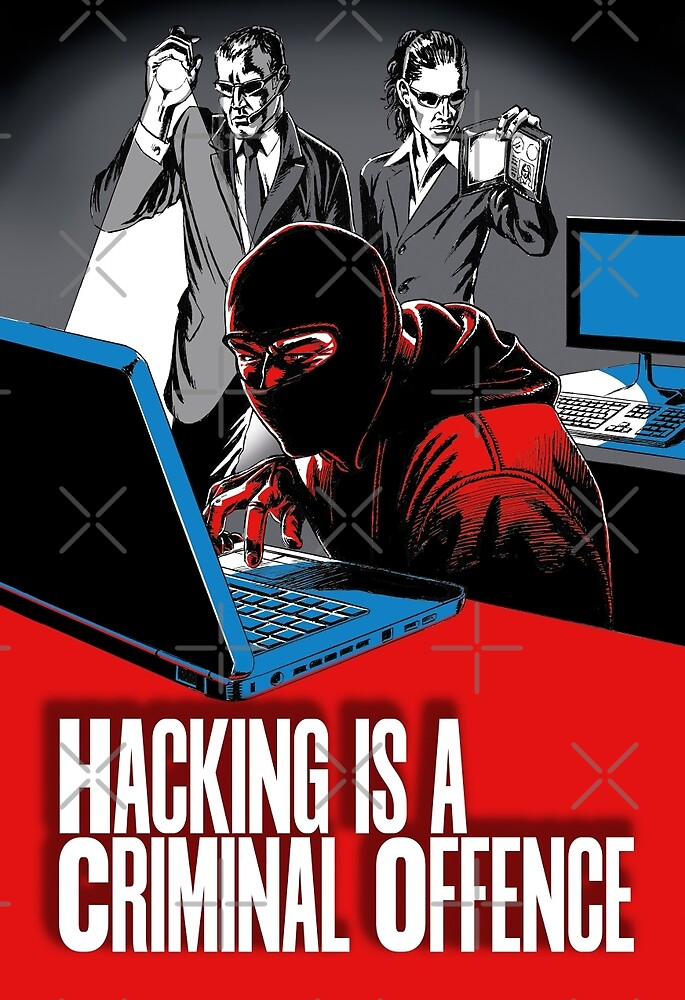 HACKING IS A CRIMINAL OFFENCE by wonder-webb