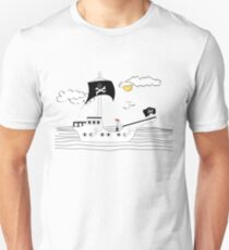 Sailing on with Quincy Jones Unisex T-Shirt