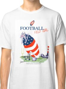 USA Football - field goal, tony fernandes Classic T-Shirt