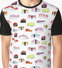 Nigiri Sushi Doodles Graphic T-Shirt