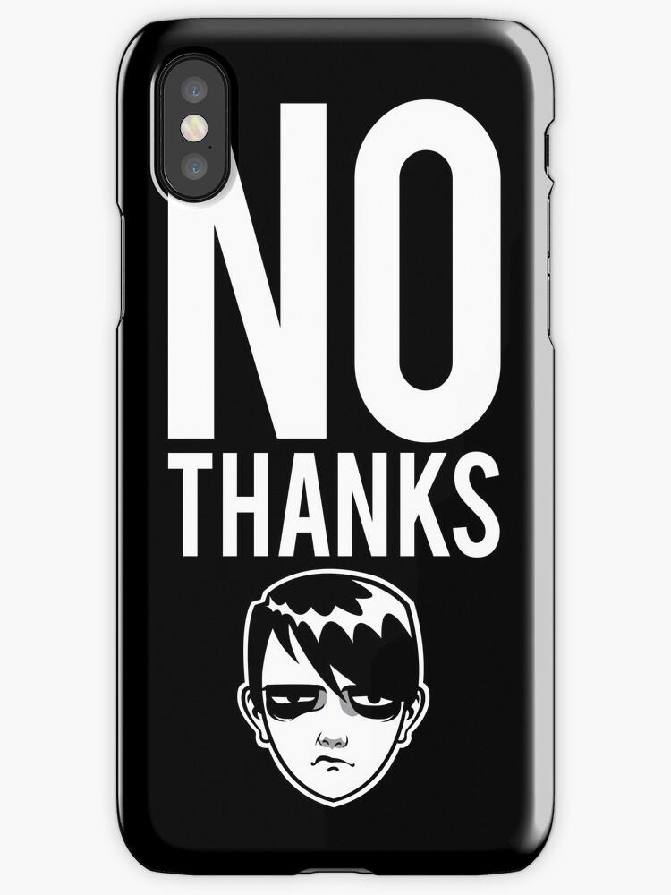No Thanks by blacklilypie