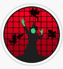 Elphaba & Flying Monkeys | Wicked Sticker