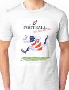 USA Football - born bred and proud, tony fernandes Unisex T-Shirt