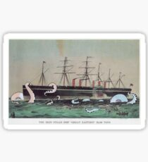 Great Eastern Steamship Sticker