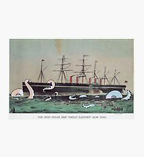 Great Eastern Steamship Photographic Print