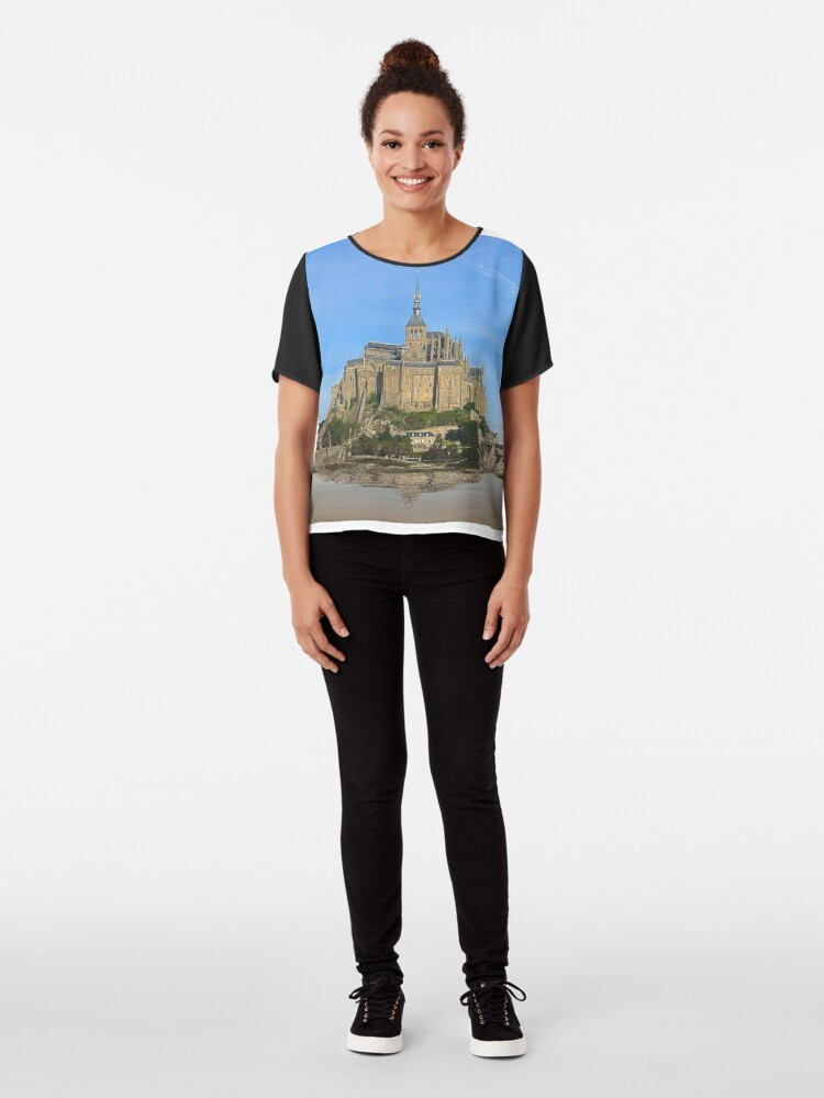 Alternate view of Castle in the air Chiffon Top