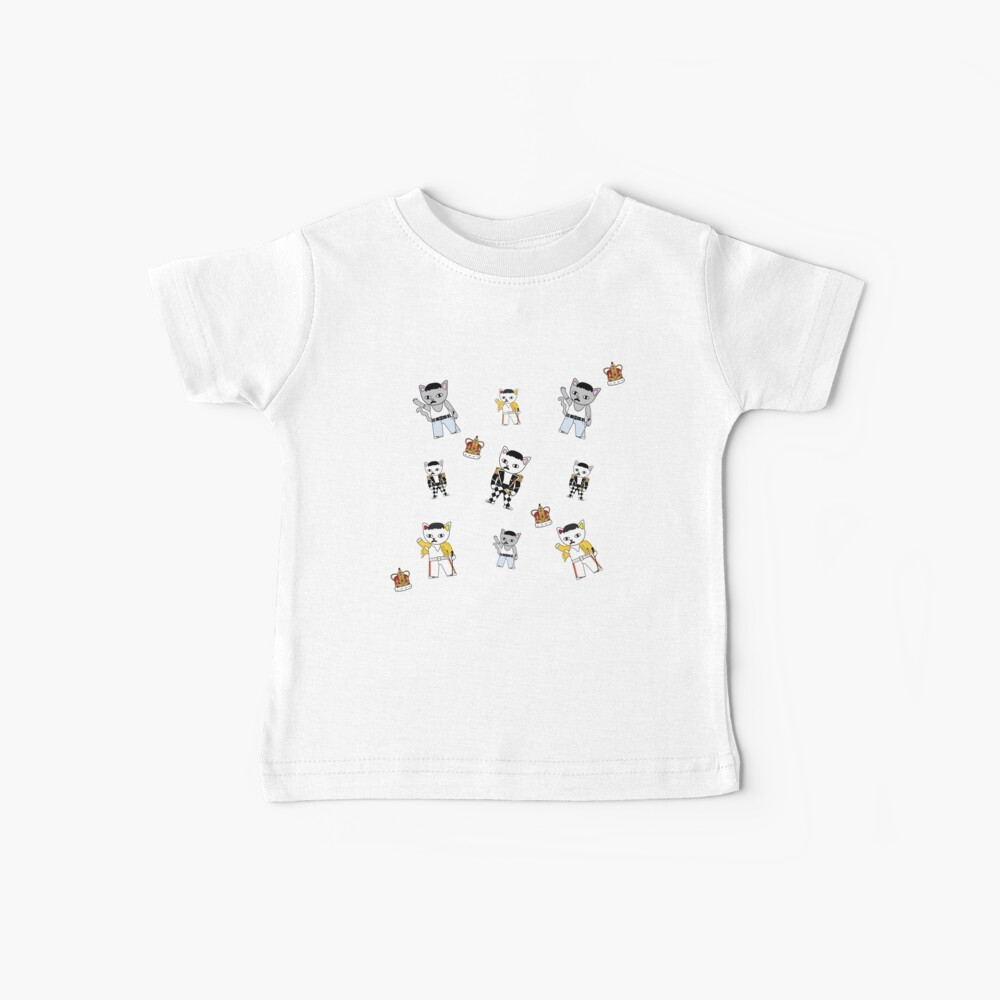 Freddie Meow Muster Baby T-Shirt