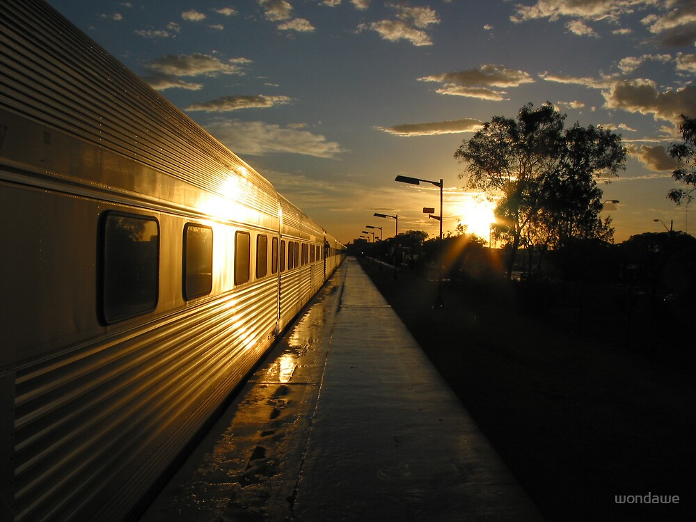 Broken Down in Broken Hill by wondawe