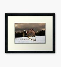 Barn, Acorn Ridge Framed Print