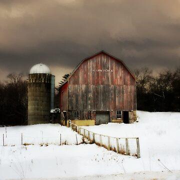Barn, Acorn Ridge by BarnArtandMore
