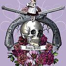 Skulls-n-Roses color by Denys Golemenkov