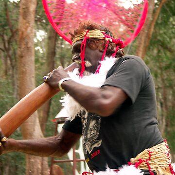 Aboriginal Mandala Halo by wondawe