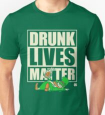 St. Patrick's Day Drunk Lives Matter T-Shirt