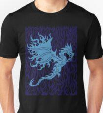Fire Dragon 3.1 Blue Unisex T-Shirt