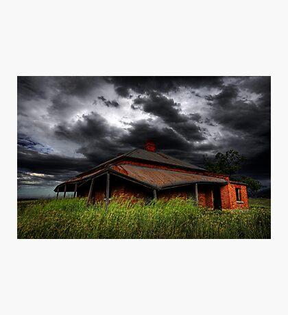 Tumbledown Cottage Photographic Print