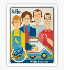 The Bluth's White Staircase Sticker
