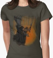 Sauron's Marshmallow Break Women's Fitted T-Shirt