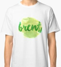 BRENT Green Classic T-Shirt