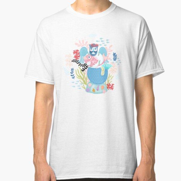 Love Merman Illustration  Classic T-Shirt