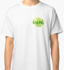BRENT Green - Chest Detail Classic T-Shirt