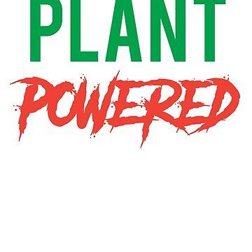 Plant Powered Vegan Vegetarian  by treasuregnome