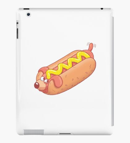 Cute Hotdog iPad Case/Skin