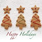 Holiday gingerbread by Sally Kate Yeoman