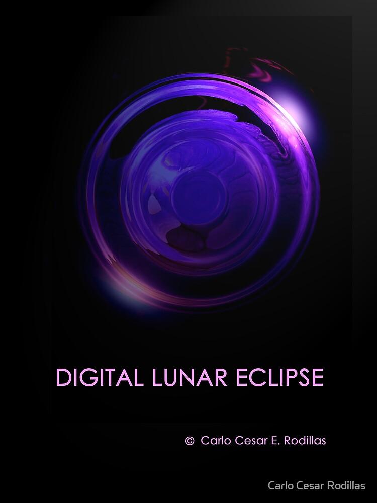 Digital Lunar Eclipse by Carlo Cesar Rodillas