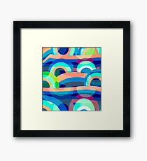 Marine abstraction Framed Print
