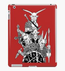 Infernal Army Red iPad Case/Skin