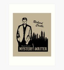 Richard Castle, Mystery Writer Art Print