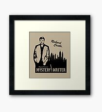 Richard Castle, Mystery Writer Framed Print